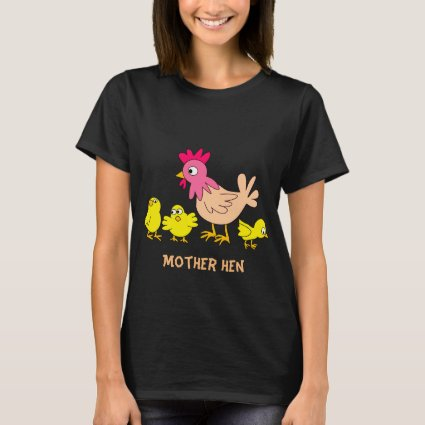 Mother Hen and Chickens T-Shirt