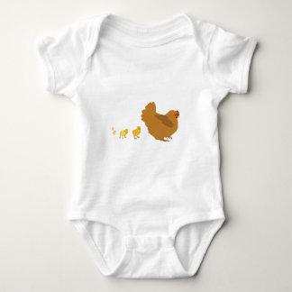 Mother Hen and Chicks Tee Shirt