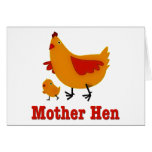 Mother Hen Greeting Cards