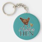 Mother Hen Keychain