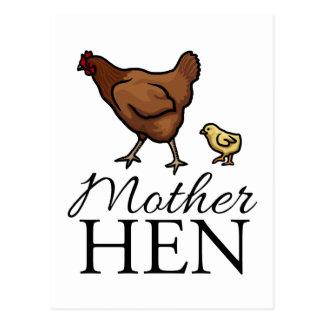 Mother Hen Postcard