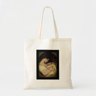 Mother Holding Baby Tote Bag