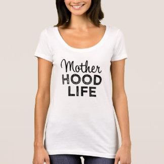 Mother Hood Life women's funny mom shirt