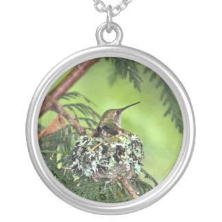 Mother Hummingbird on Nest Custom Jewelry