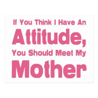 Mother Humor Postcard
