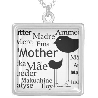 Mother in different Languages Necklace necklace
