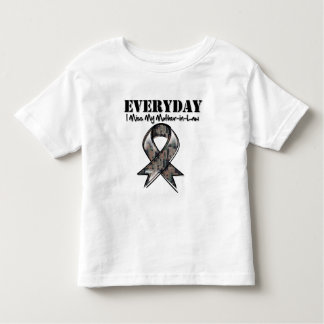 Mother-in-Law - Everyday I Miss My Hero Military T Shirt