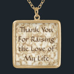 """Mother-In-Law Gift Necklace - Love of My Life<br><div class=""""desc"""">Thank You For Raising the Love of My Life</div>"""