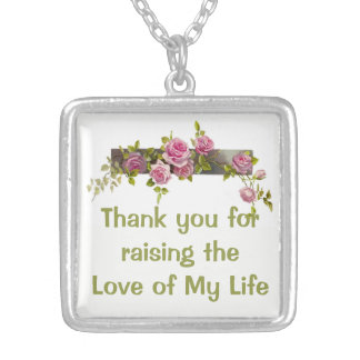 Mother-in-law gift necklace mother's day birthday