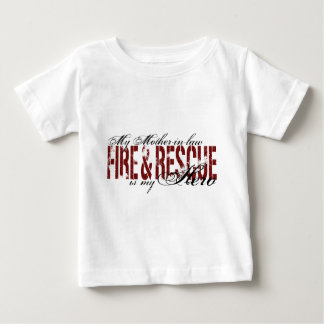 Mother-in-law Hero - Fire & Rescue Baby T-Shirt