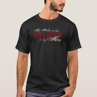 Mother-in-law Hero - Fire & Rescue T-Shirt