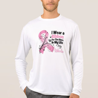 Mother-in-Law Hero in My Life Breast Cancer T-shirts
