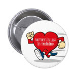 Mother-In-Law in Training Button