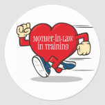 Mother-In-Law in Training Label Stickers