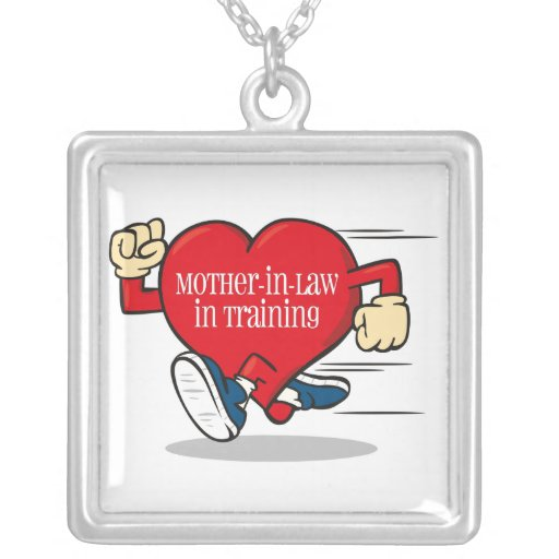 Mother-In-Law In Training Silver Necklace
