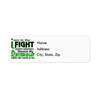 Mother-In-Law Means The World To Me Breast Cancer Label