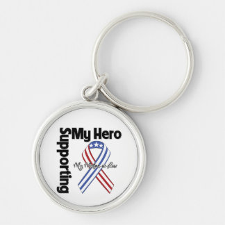 Mother-in-Law - Military Supporting My Hero Keychain