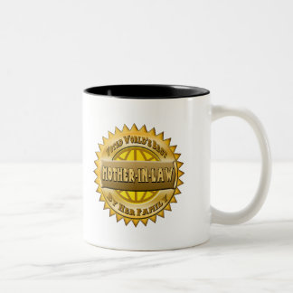 Mother-In-Law Mothers Day Gifts Two-Tone Coffee Mug