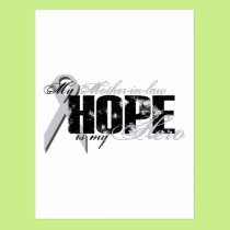Mother-in-law My Hero - Lung Hope Postcard