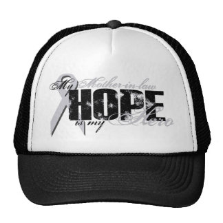 Mother-in-law My Hero - Lung Hope Trucker Hat