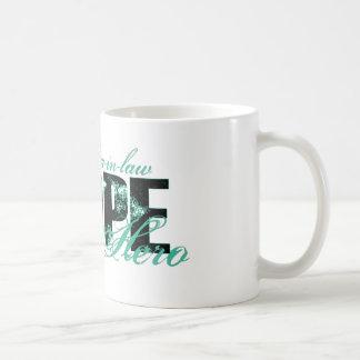 Mother-in-law My Hero - Ovarian Hope Coffee Mug