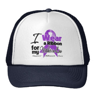 Mother-in-Law - Pancreatic Cancer Ribbon Trucker Hat