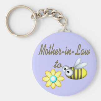 Mother In Law to Bee Keychain