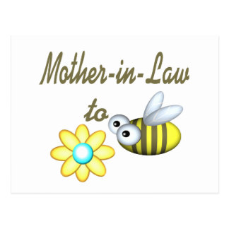 Mother In Law to Bee Postcard