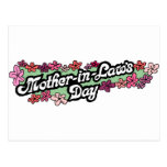 Mother in Laws Day Postcard