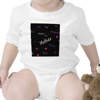 Mother - in many languages rompers