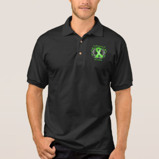 Mother - In Memory Lymphoma Heart Polo Shirt