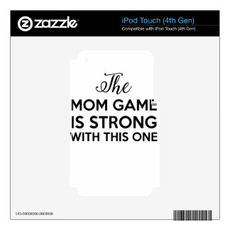 mother iPod touch 4G skins