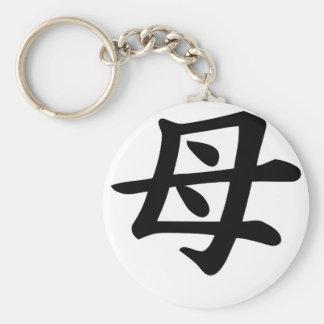 Mother - Japanese  Kanji Symbol Key Chain