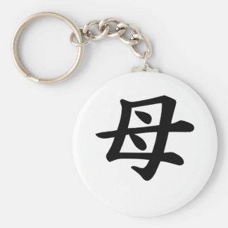 Mother - Japanese  Kanji Symbol Keychains