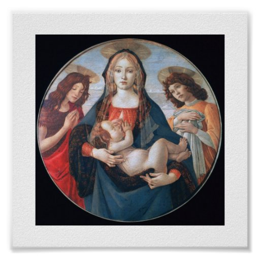 Mother &  Jesus Poster up to 11x11