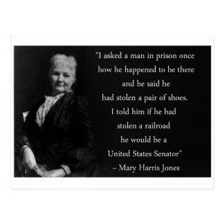 Mother Jones Quote Postcard