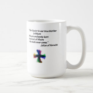 Mother Julian quote Classic White Coffee Mug