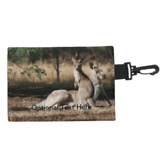 Mother Kangaroo and Joey Relaxing Accessories Bags