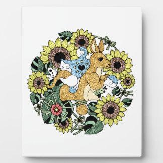 Mother kangaroo (Mother Kangaroo) Plaque