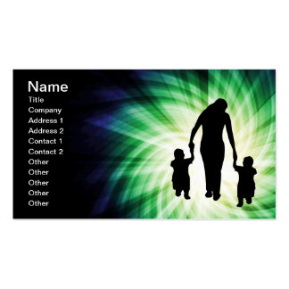 Mother & Kids; Cool design Business Card