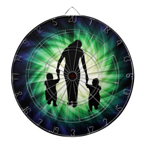 Mother & Kids; Cool design Dart Board