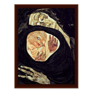 Mother Killed By Schiele Egon Post Card