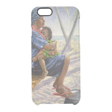 Beach Themed Mother Love 2003 Clear iPhone 6/6S Case