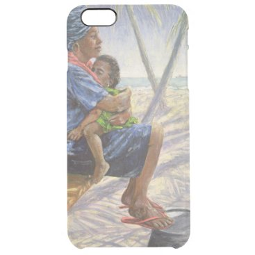 Beach Themed Mother Love 2003 Clear iPhone 6 Plus Case