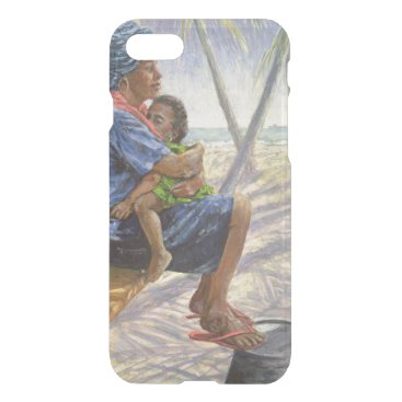 Beach Themed Mother Love 2003 iPhone 8/7 Case