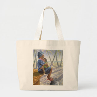 Mother Love 2003 Large Tote Bag