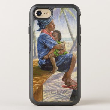 Beach Themed Mother Love 2003 OtterBox Symmetry iPhone 7 Case