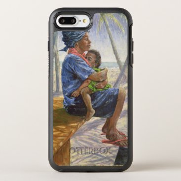 Beach Themed Mother Love 2003 OtterBox Symmetry iPhone 7 Plus Case