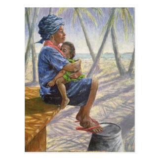 Mother Love 2003 Postcard