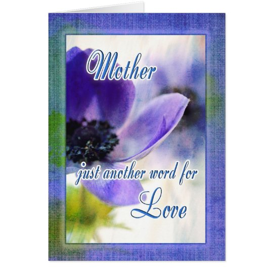 Mother Love Card